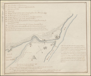 [A map of Fort Carillon and environs]