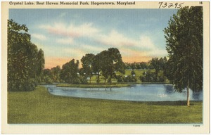 Crystal Lake, Rest Haven Memorial Park, Hagerstown, Maryland