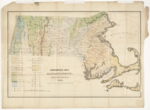 Geological map of Massachusetts