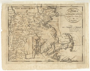 A map of Massachusetts, from the best authorities