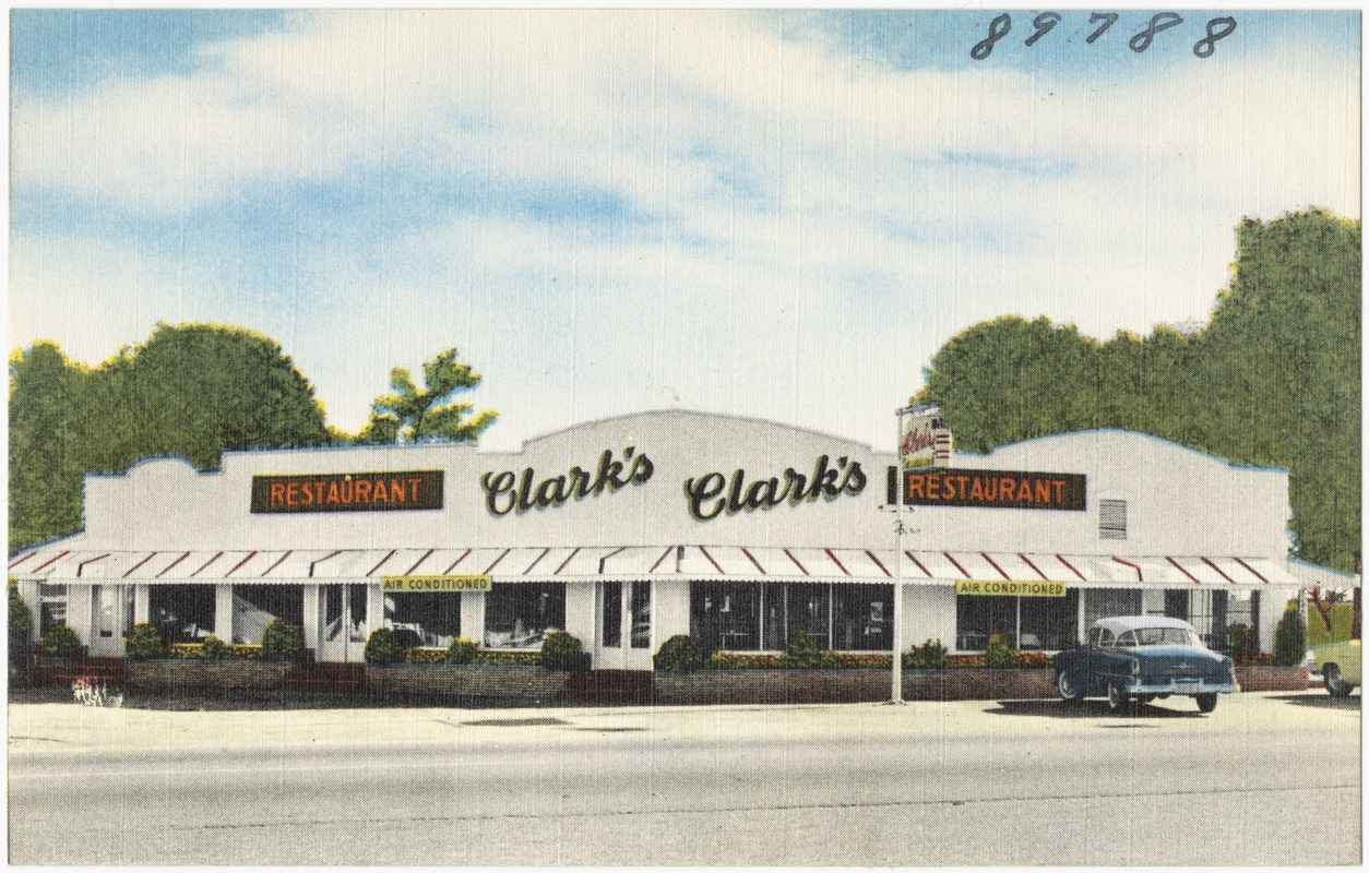 Clark S Restaurant Santee South Carolina On U S 301 15