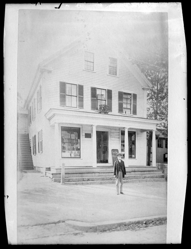 Capt. Francis French home--N