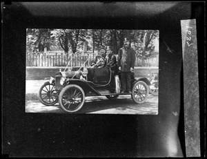 Chief Litchfield and the First Chiefs Ford car