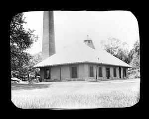 Pumping station in park