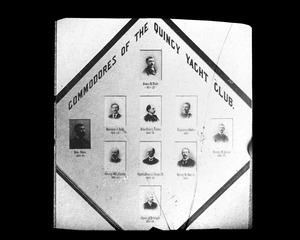 Commodores Quincy Yacht Club 1874-1895