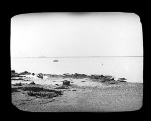 Easterly view across Quincy Bay from foot of Bay Street