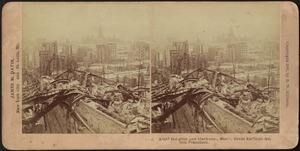 Amid the gray and blackened waste, great earthquake, San Francisco