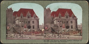 The beautiful Spreckles residence destroyed by fire and earthquake, San Francisco