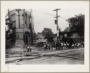 First Baptist Church fire