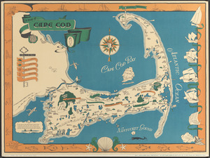 A map of Cape Cod