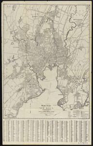 The Price & Lee Co's map of the city of New Haven, Connecticut