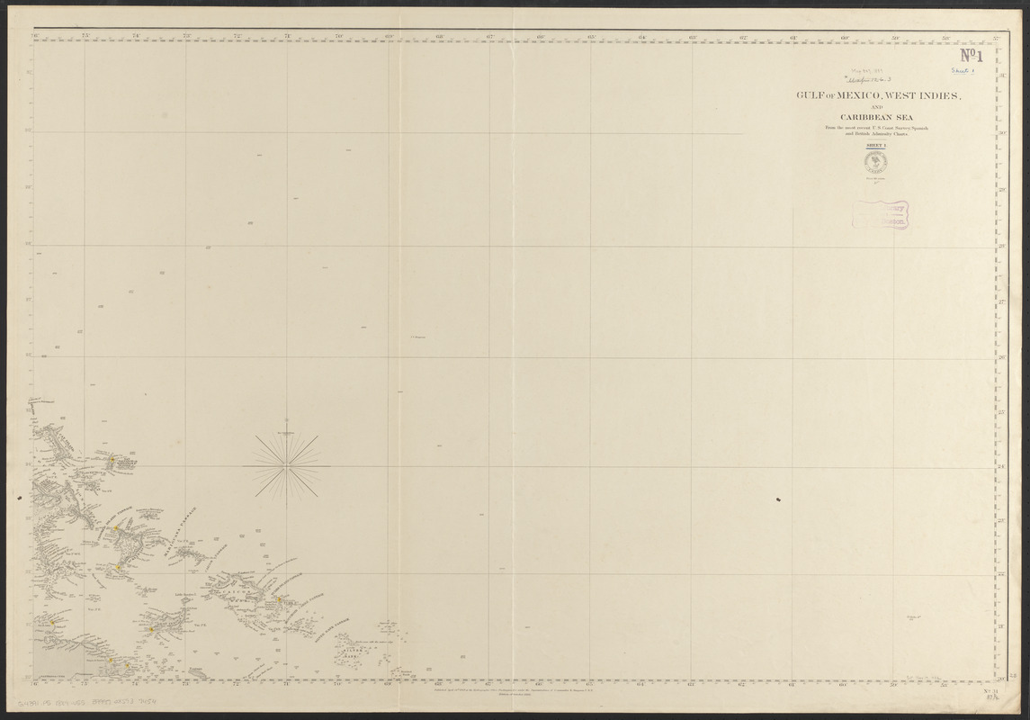 Gulf of Mexico, West Indies and Caribbean Sea