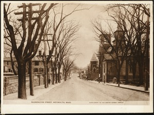 Washington Street, Weymouth, Mass.