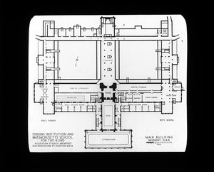 Basement Plan - Main Building