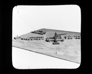 Model of General Layout of Perkins Institution