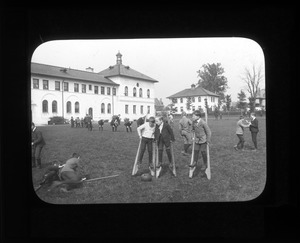 Boys on Stilts, Overbrook School for the Blind