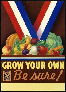 Victory Garden Poster, World War II