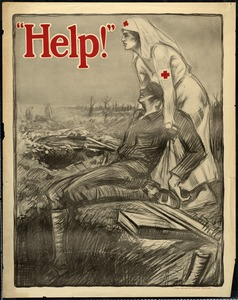 Red Cross Nurse Recruitment Poster, World War I