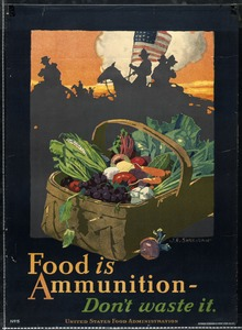 Food Ration Poster, World War I