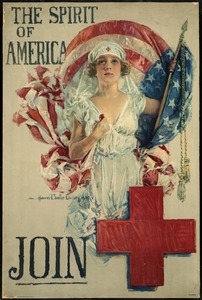 American Red Cross Poster, World War I