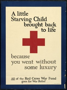 American Red Cross War Fund, World War I