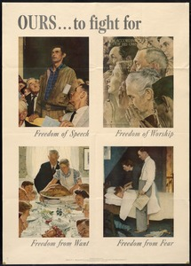 Freedom Poster, World War II
