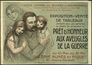 Art Sale to Benefit War Blind, France