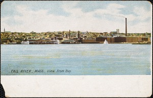 Fall River, Mass. view from bay
