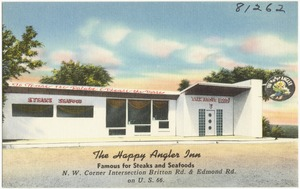 The Happy Angler Inn, famous for steak and seafoods