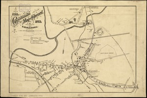 Centennial map of Concord, 1775-1875
