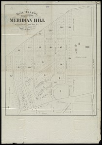 Hall and Elvans' subdivision of Meridian Hill, Washington County, D.C