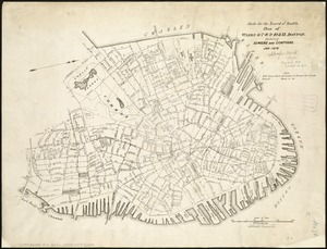 Plan of wards 6, 7, 8, 9, 10 and 12, Boston