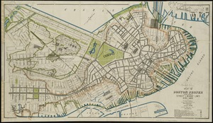 Plan of Boston proper