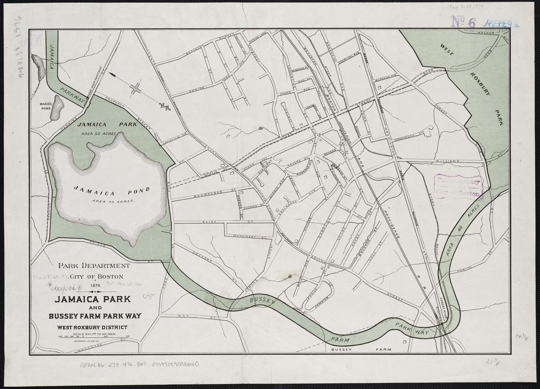 Jamaica Park and Bussey Farm Parkway