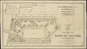 Preliminary plan for Wood Island Park, East Boston
