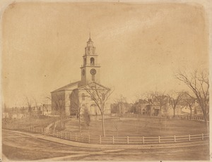 The First Church in Roxbury (Unitarian). Eliot Square