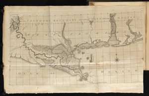 Map of the Lower Mississippi River