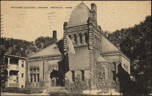 Richard Sugden Library, Spencer, Mass.