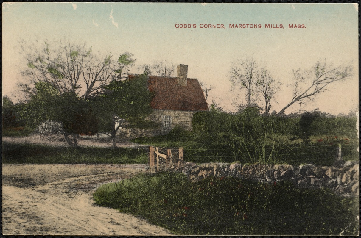 Cobb's Corner, at the junction of Crooked Cartway with Race Lane