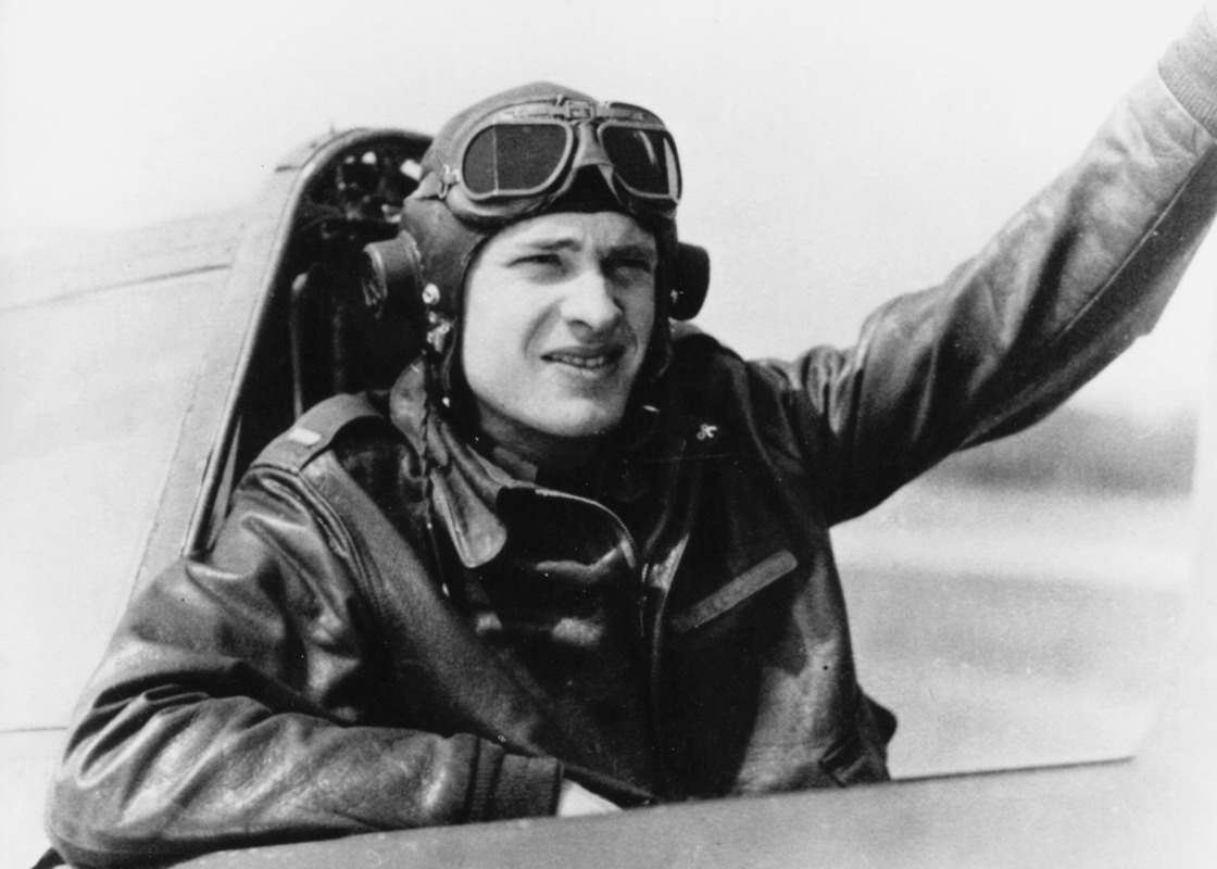 Air Force captain Sherman Crocker (1920-1945), the son of