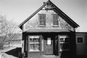 The abandoned Foster Crocker store in the village center was moved in 1927 by Lorenzo Gifford and attached to the back of the Gifford farmhouse