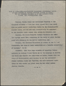 American Federation of Labor typed resolution, New York, N. Y., May 22, 1926