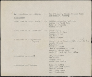 [Citizens National Committee for Sacco and Vanzetti] typed document (copy), [July-August 1927]