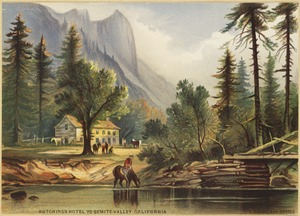 Hutchings Hotel, Yosemite Valley, California