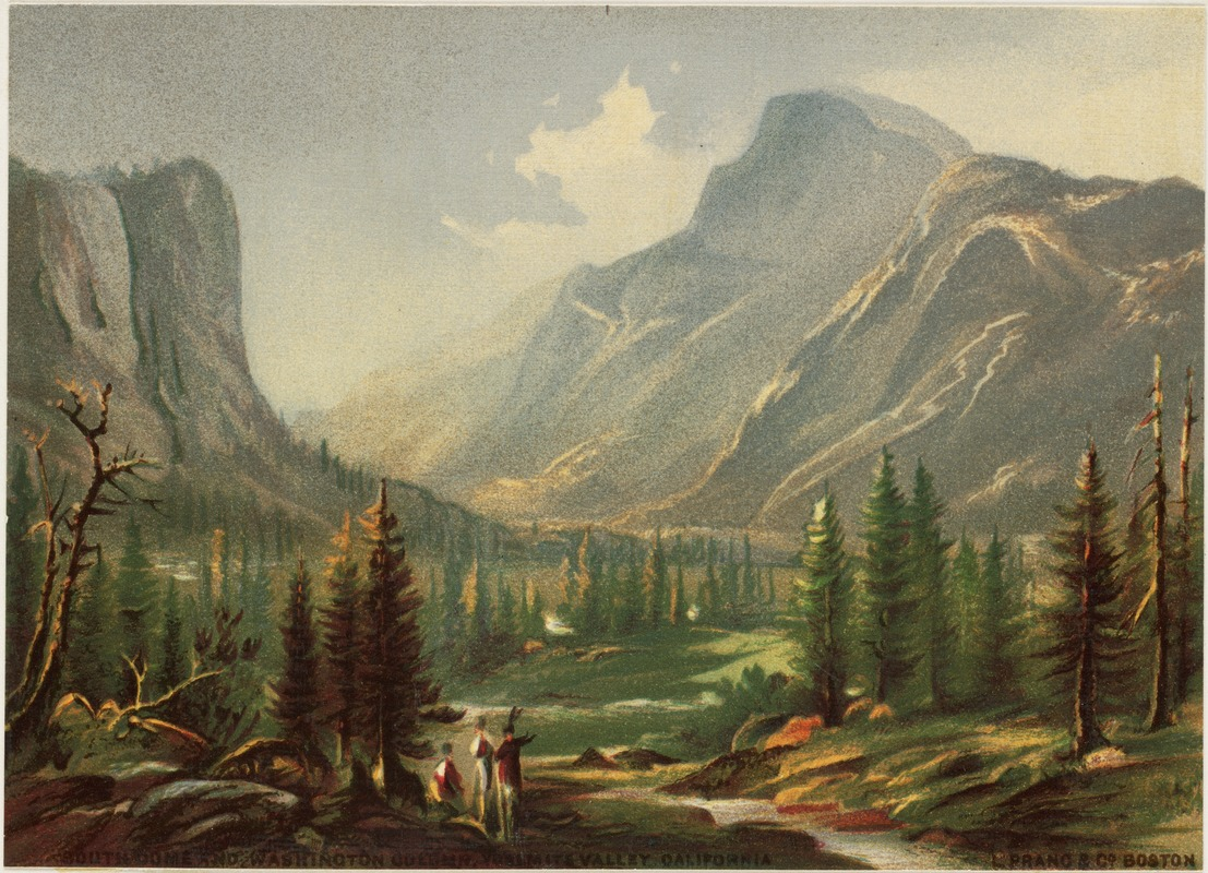 South Dome and Washington Column, Yosemite Valley, California