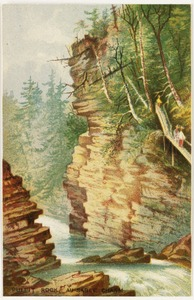 Pulpit Rock, Ausable Chasm