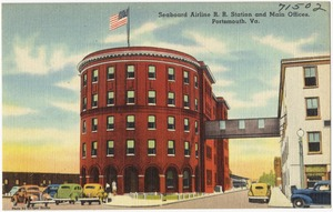 Seaboard Airlines R. R. Station and main office, Portsmouth, Va.