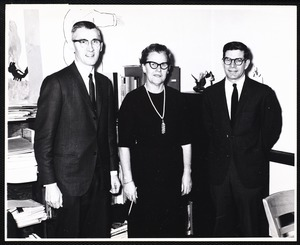 Dr. Frank Power. Miss Mary L. Roache. J. Walter Richard