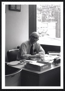 William T. Casey, reference librarian ca 1992