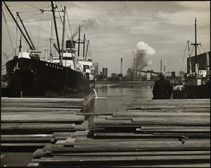 Boston Waterfront Industrial, 1930's & 1940's